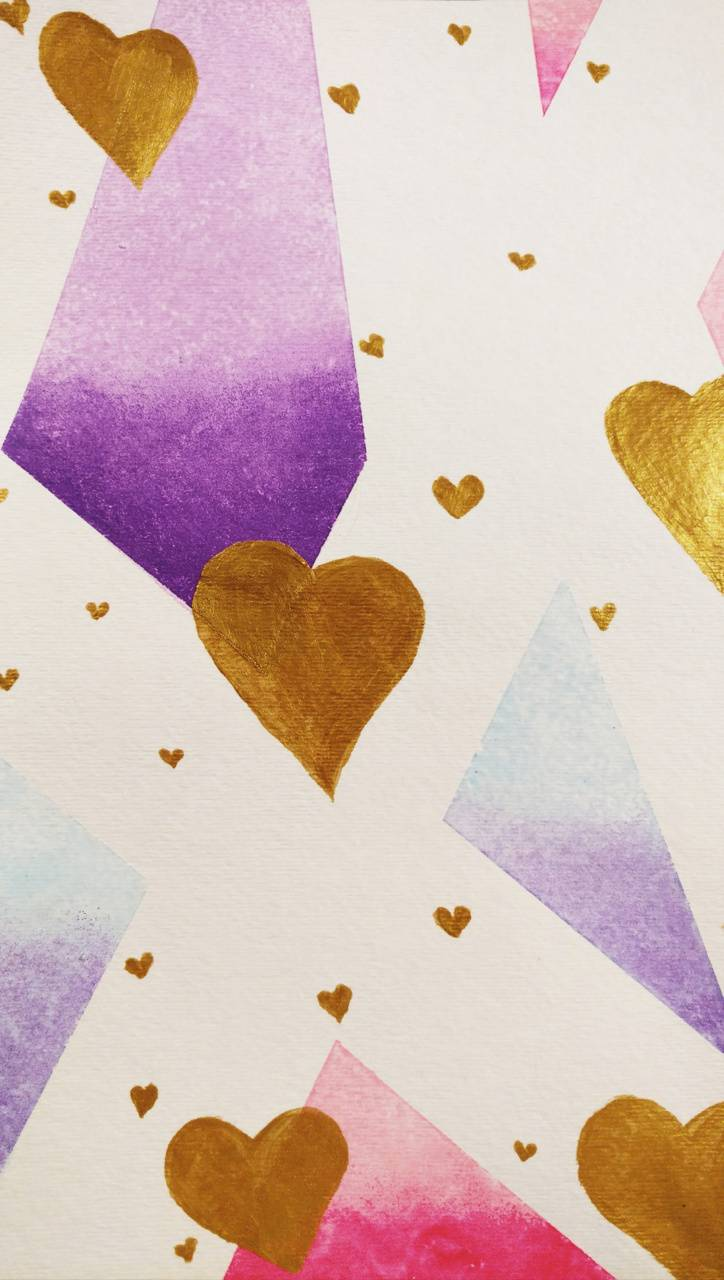 Hearts and Ombre