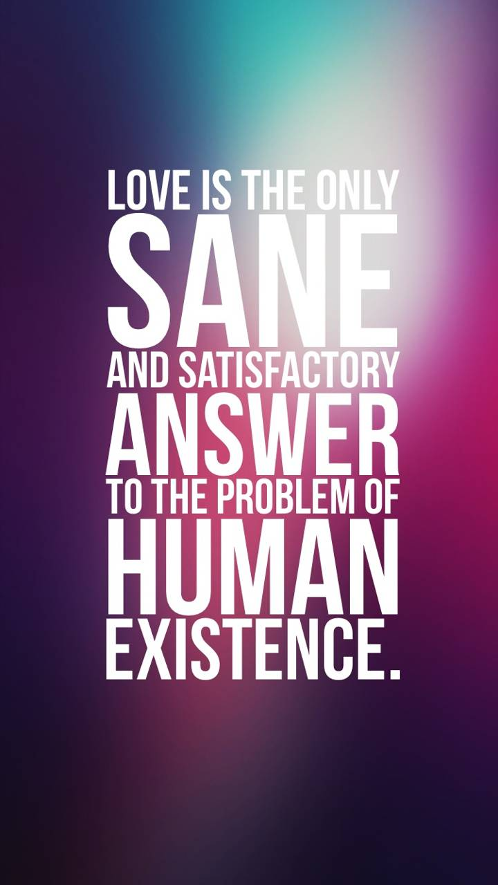 Love Is Sane