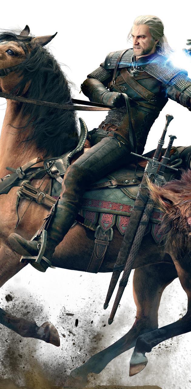 Geralt and Roach