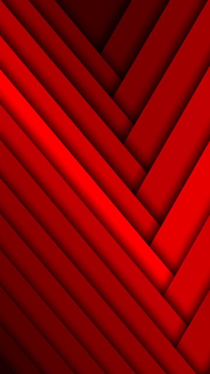 Red Braid Pattern