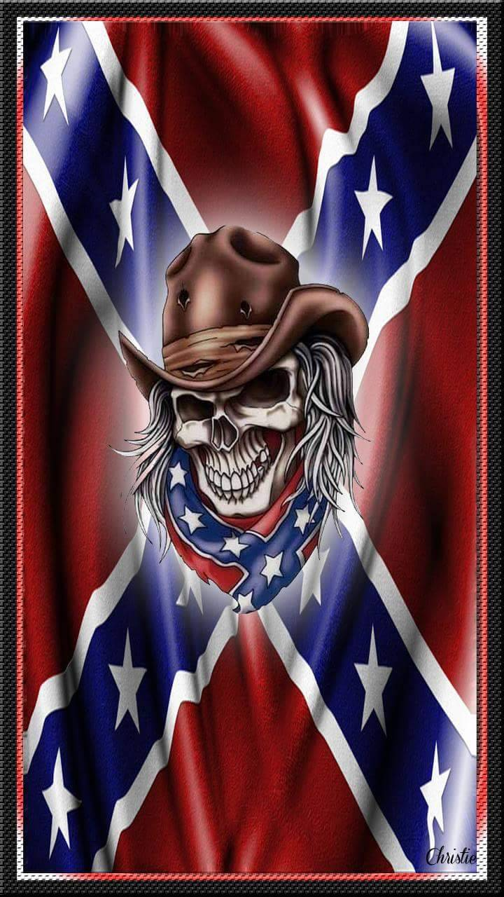 Rebel Flag Skull Wallpaper About Flag Collections
