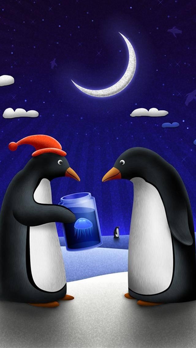 Couple Penguins