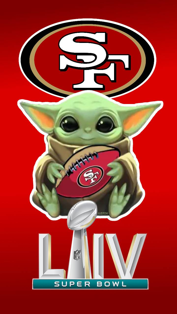 Baby Yoda 49ers LIV