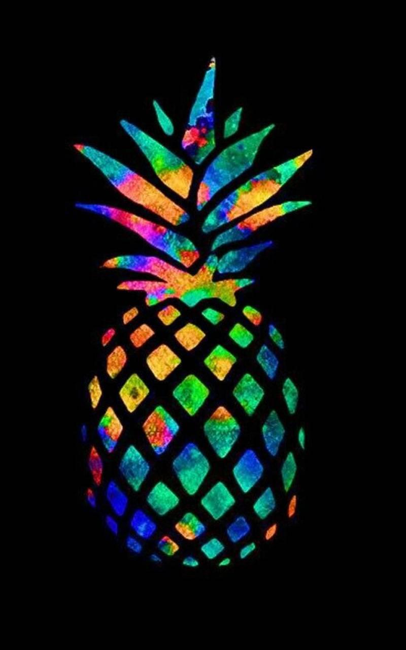 Rainbow pinnapple