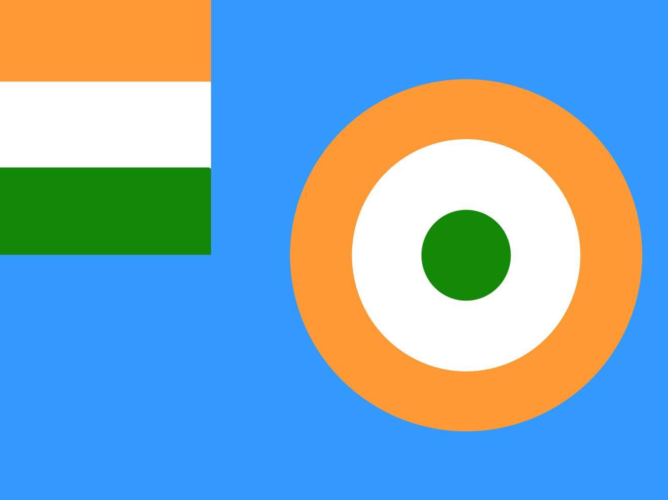 I A F Flag