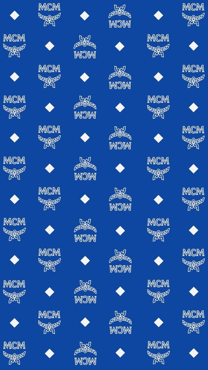 Blue Mcm Monogram Wallpaper By Souljahp 2c Free On Zedge