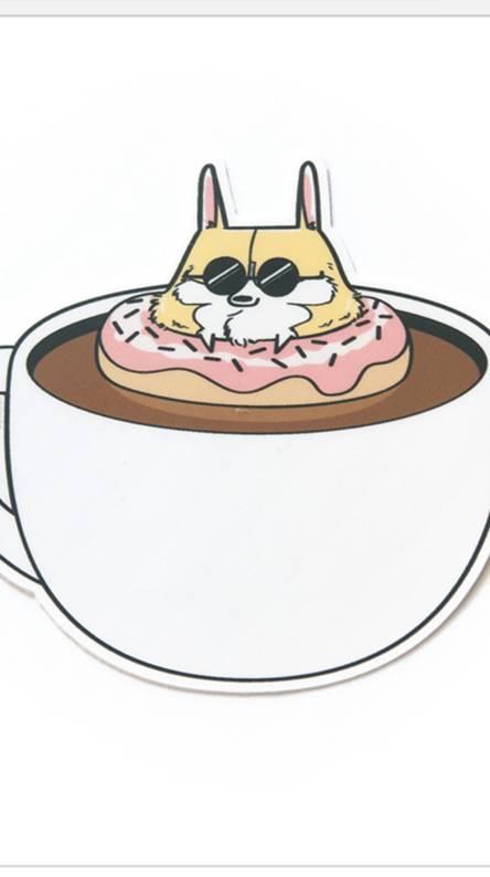Coffee Dog Donut