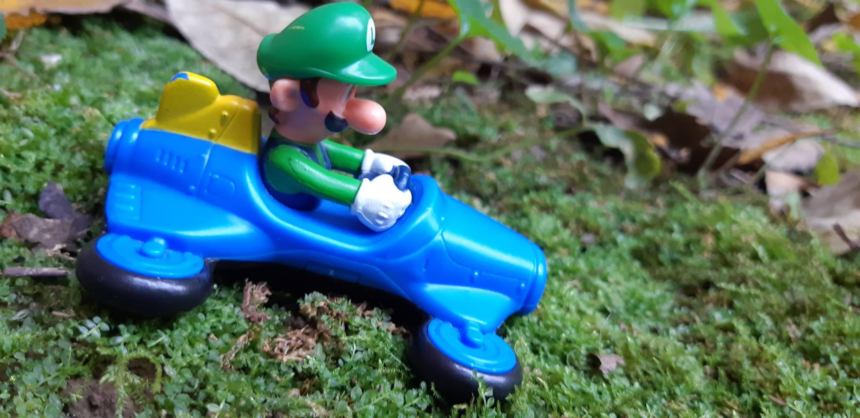 Go Kart Luigi