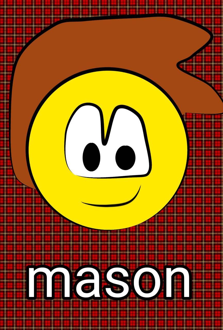 Mason wallpaper