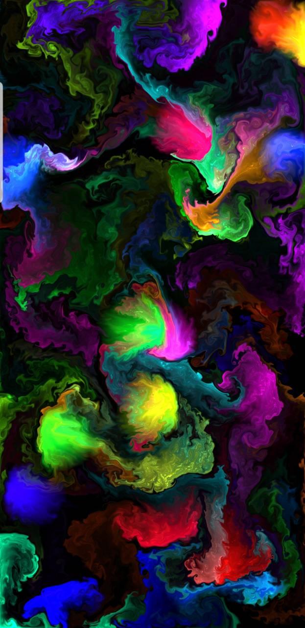 Colourful liquid