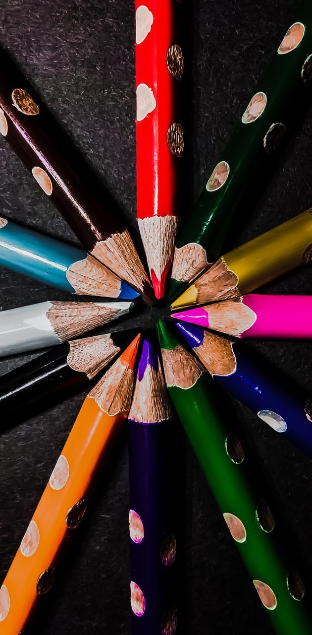 Pencil colors