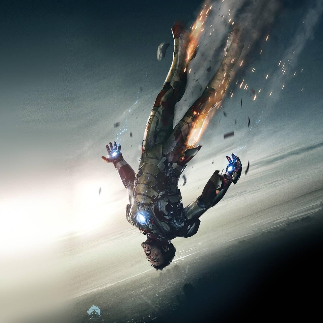 ironman 3 falling