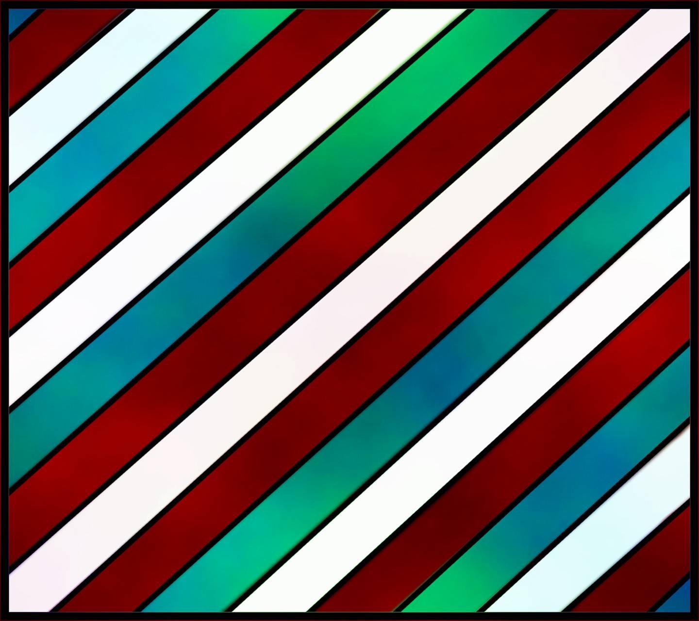 Stripes red blue
