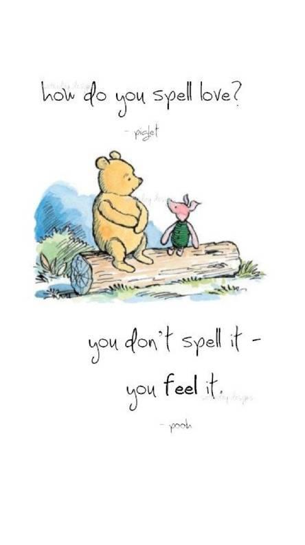 pooh piglet love