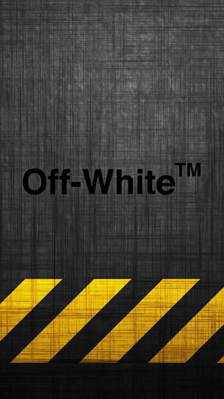 Off White Caution