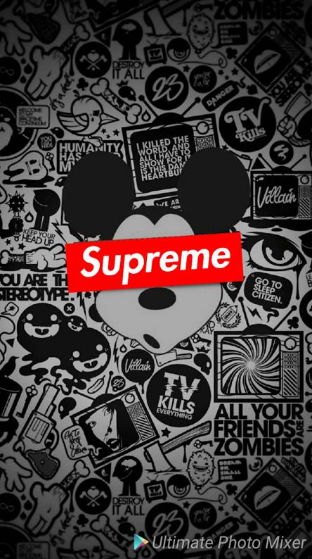 Mickey Mouse Supreme Ringtones And Wallpapers Free By Zedge
