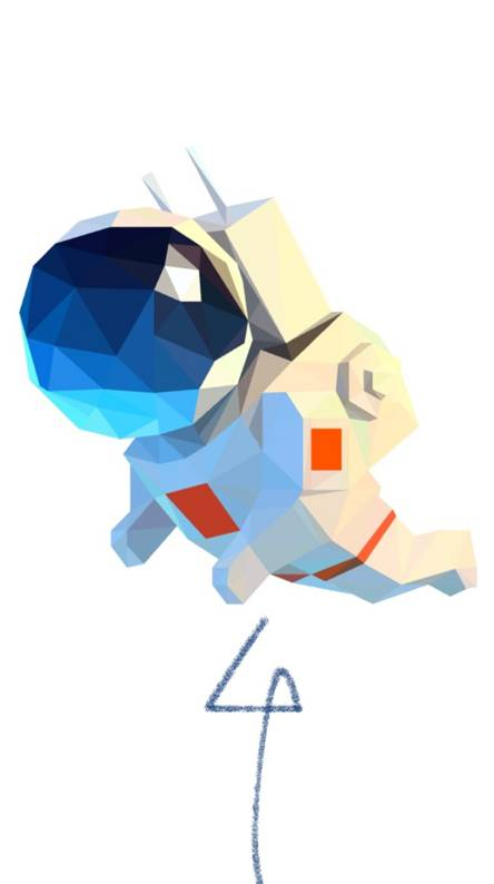 Colorful Astronaut