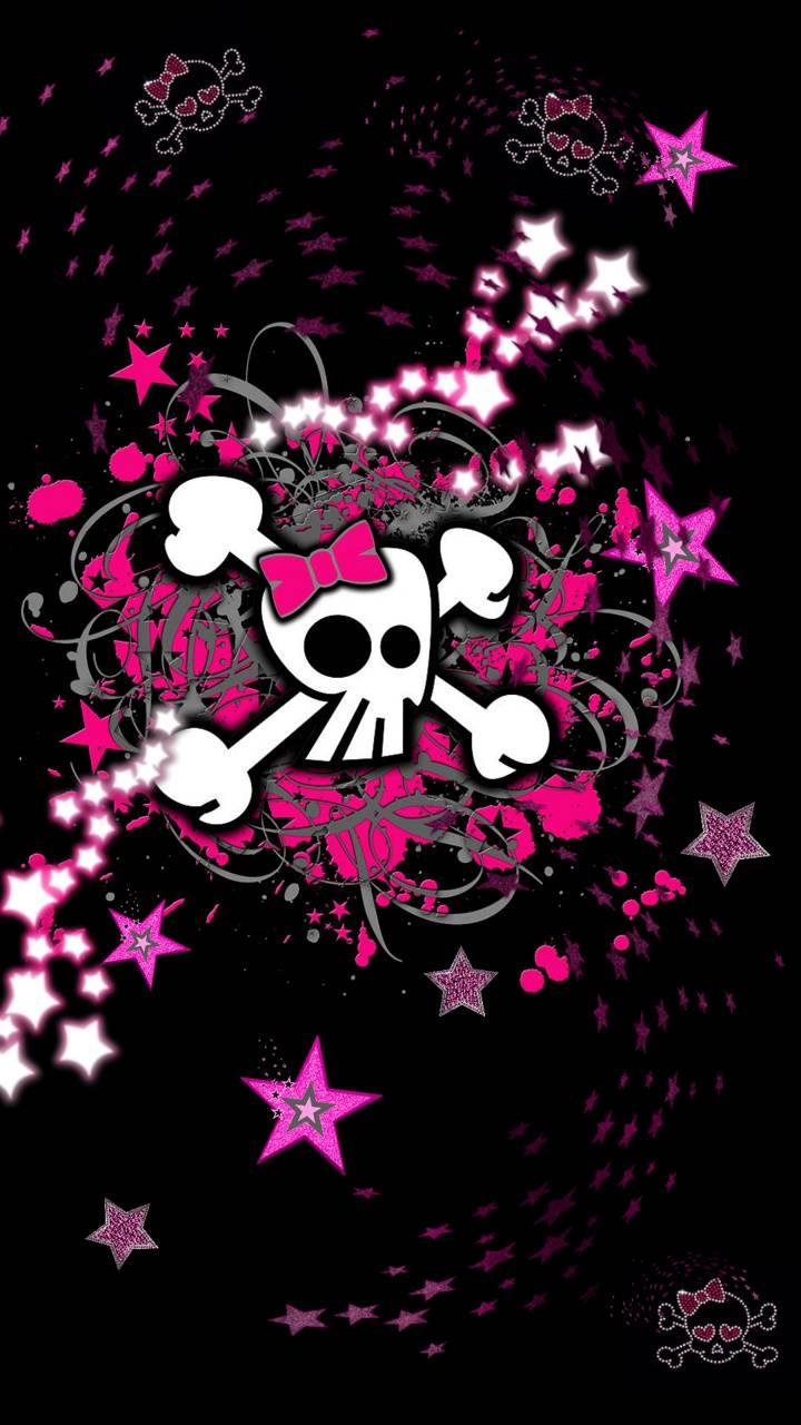 Girly stars n skulls