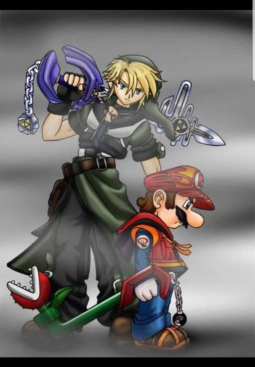 Link kingdom hearts