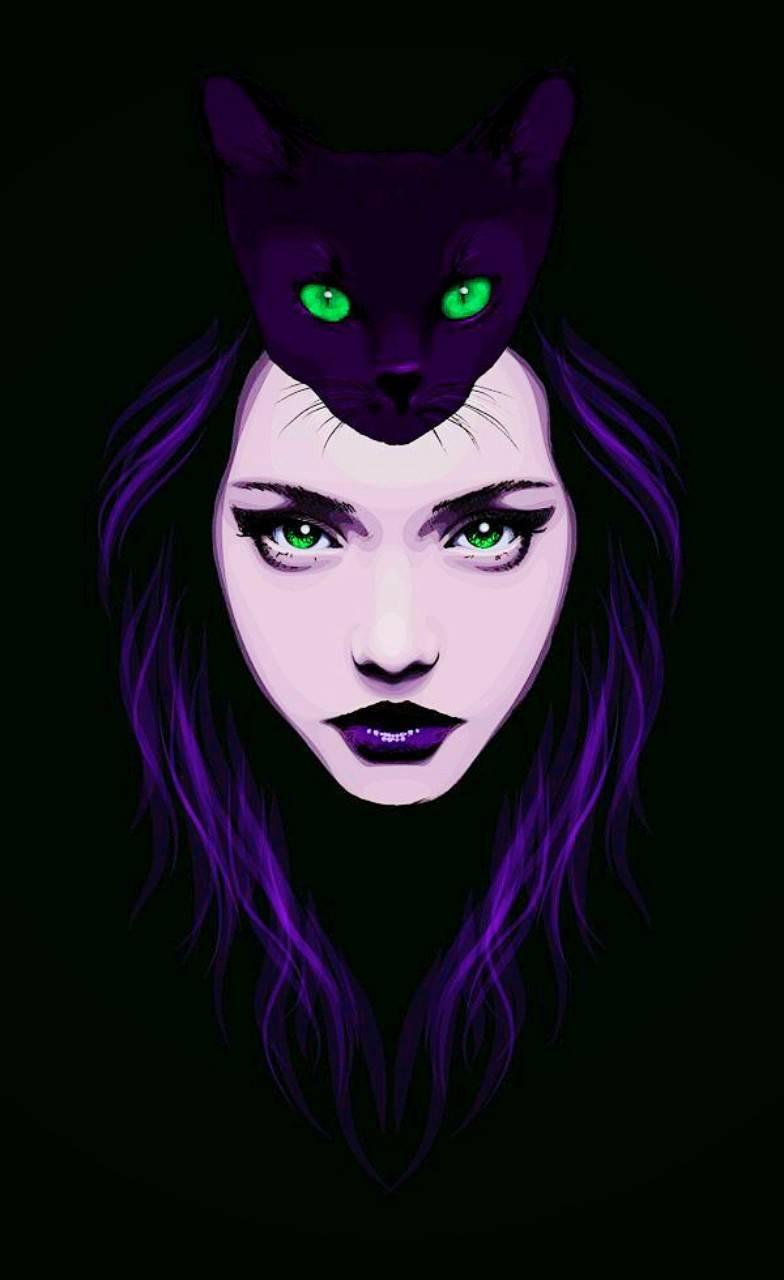 Girl Green Eyes