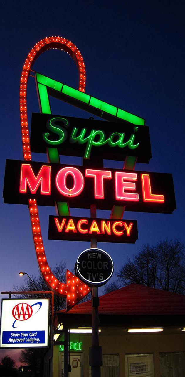 Neon Motel Route 66