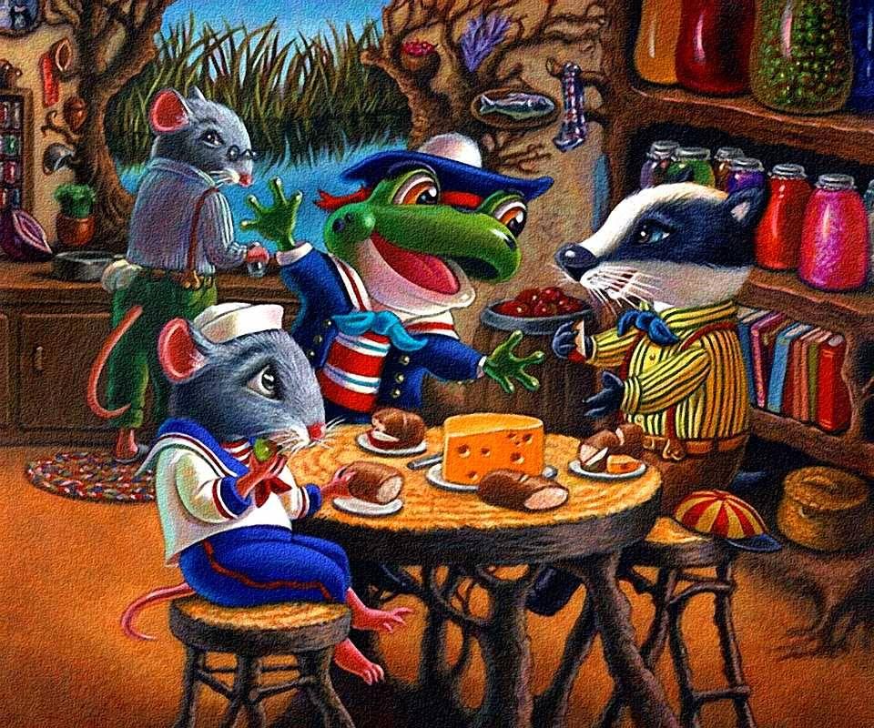 Animal Lunch