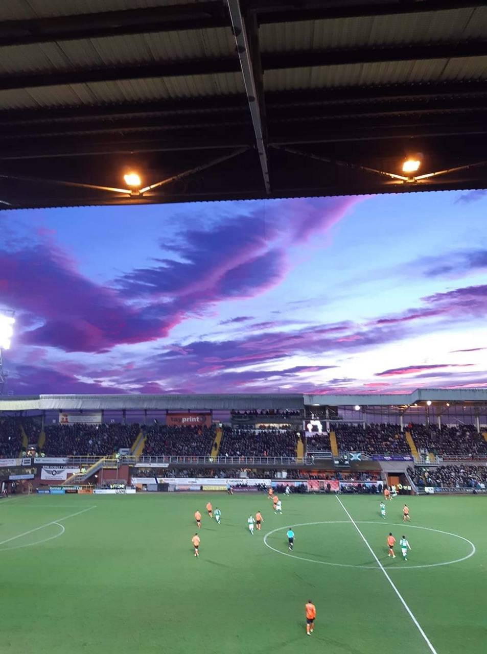 Dundee United Sunset