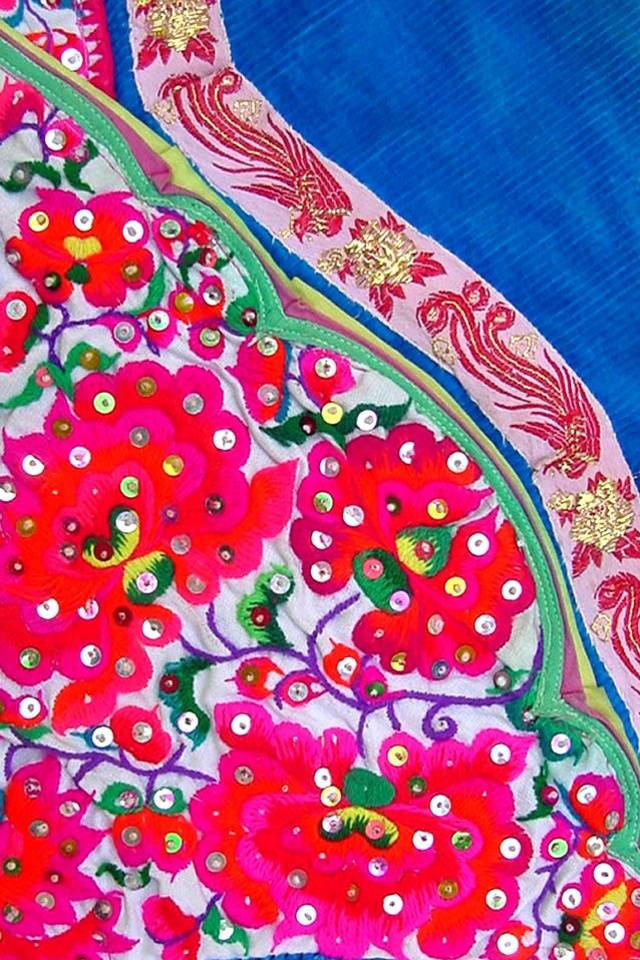 Textile Embroidered