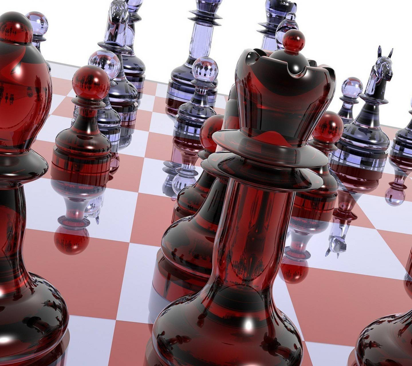 Glass Chess 3d
