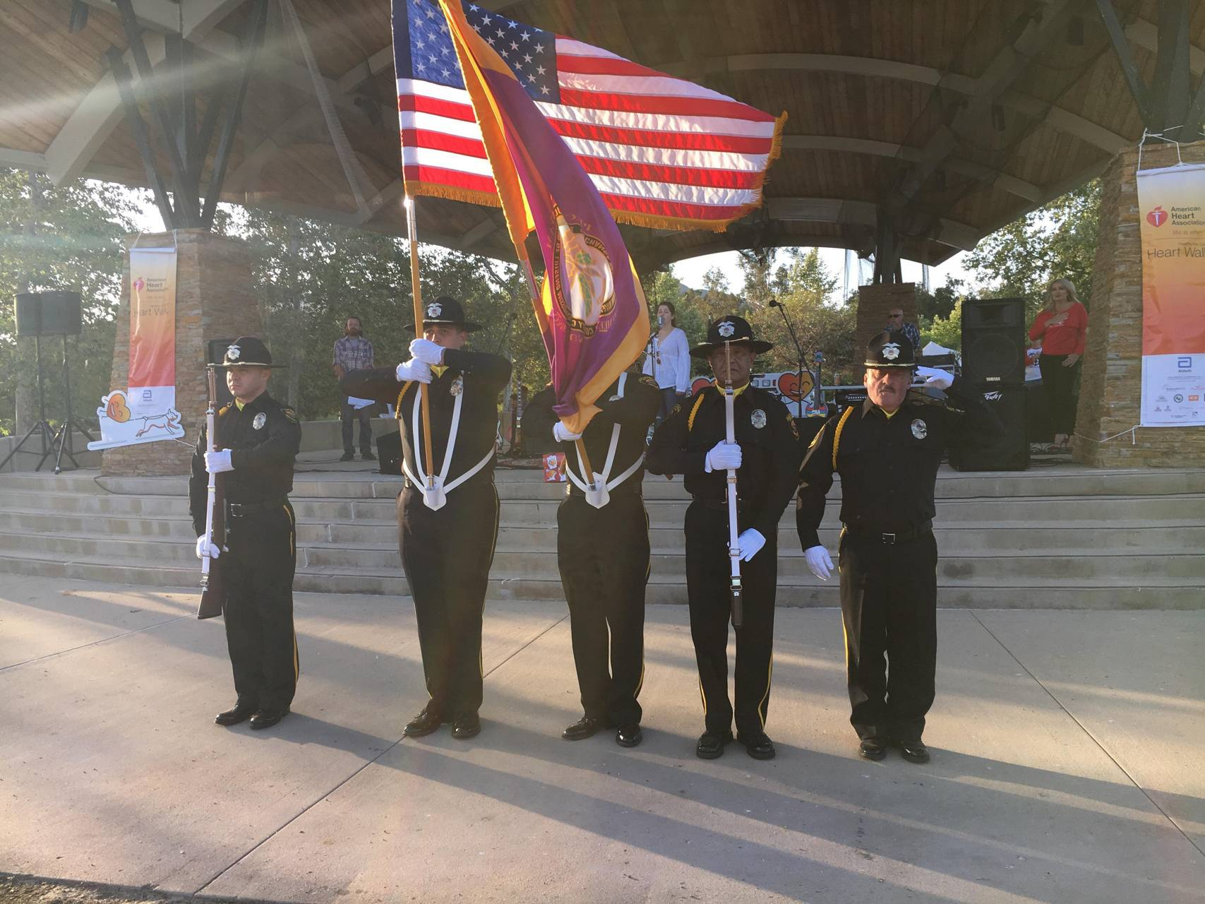 Color guard Ceremony