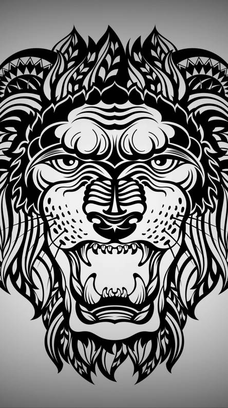 Art Lion Ringtones And Wallpapers Free By Zedge
