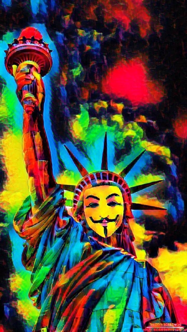 Anonymous rainbow