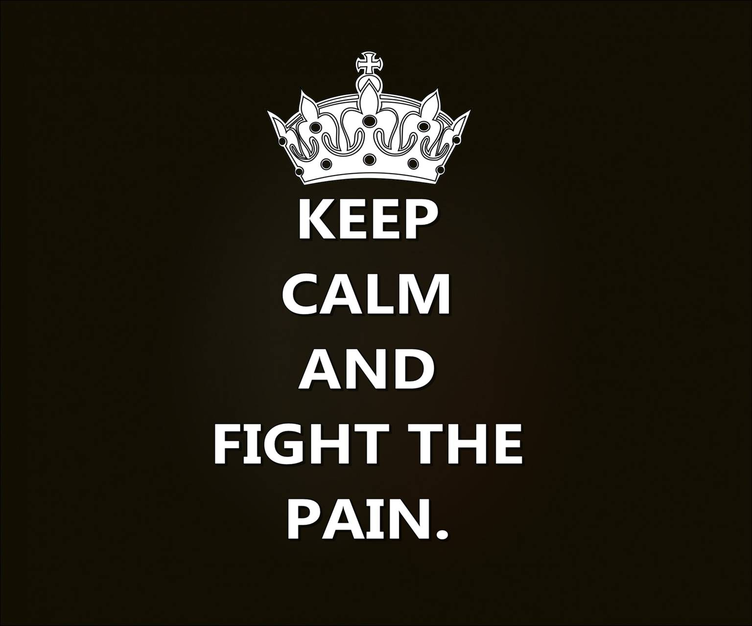fight the pain