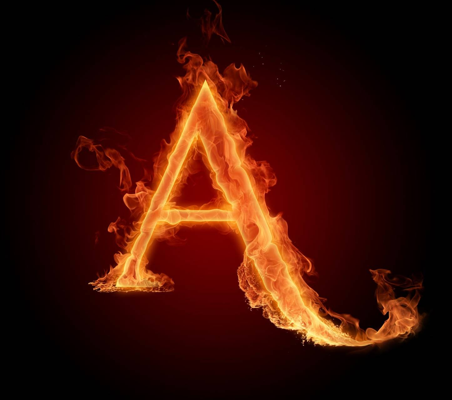 letter a in fire hd wallpaper by mr lazy 4d free on zedge