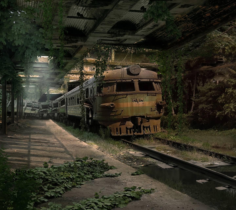 Abandonded Train