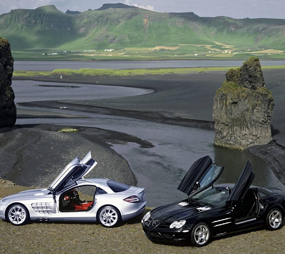 Dual Mercedes Slr