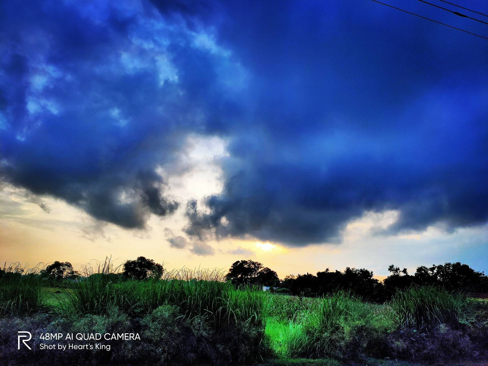 Blue cloud