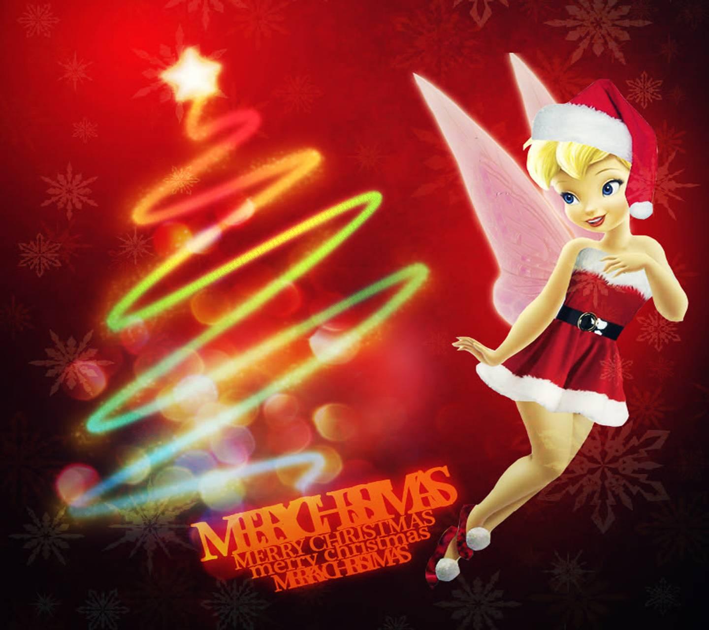 Christmas Tinkerbell.Christmas Tinkerbell Wallpaper By Venus 3e Free On Zedge