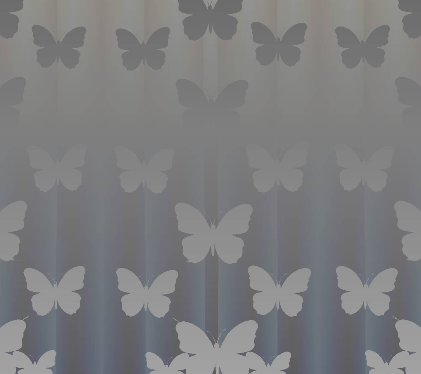Butterfly shade