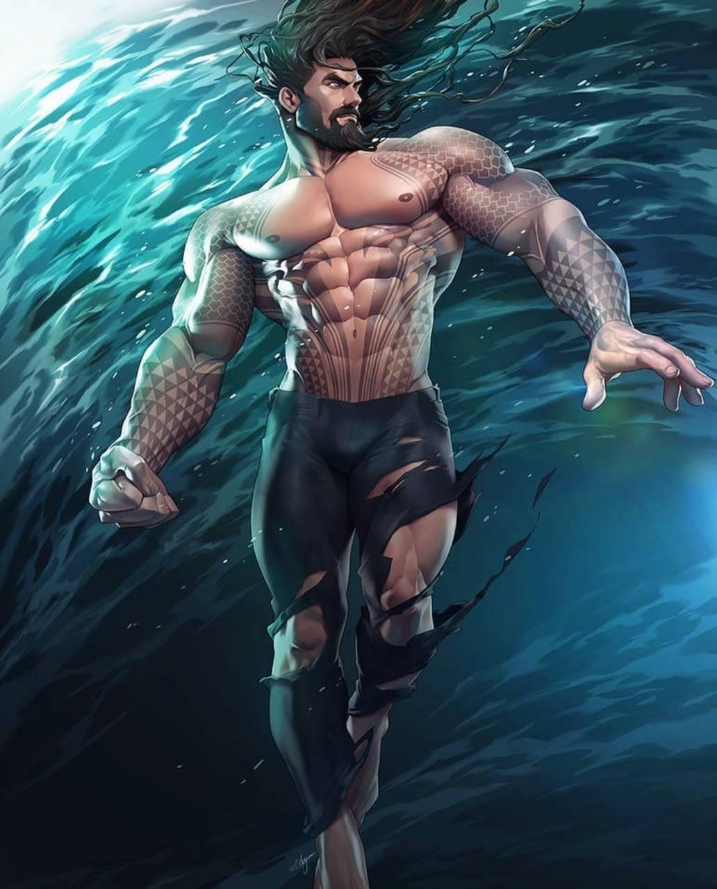 Aquaman Art