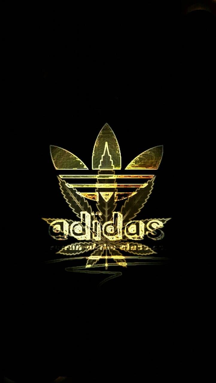 Gold adidas w**d