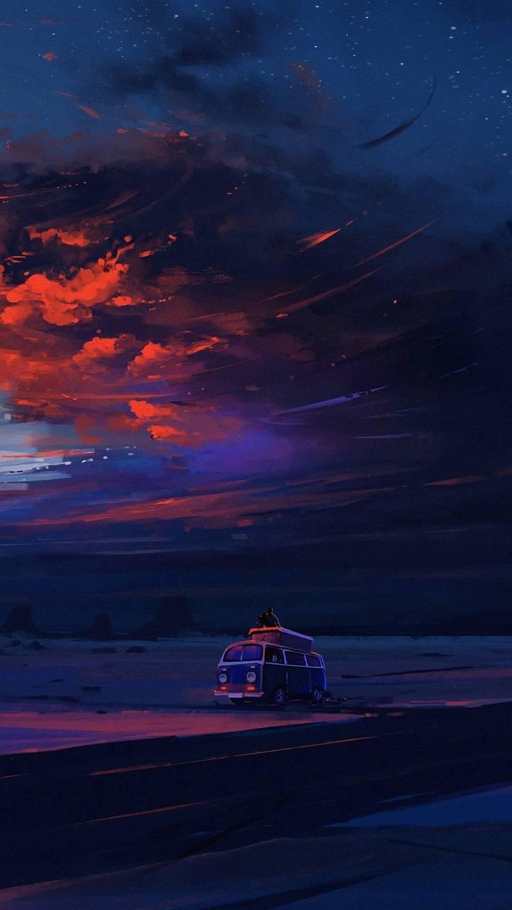 Van Ride Sky Night