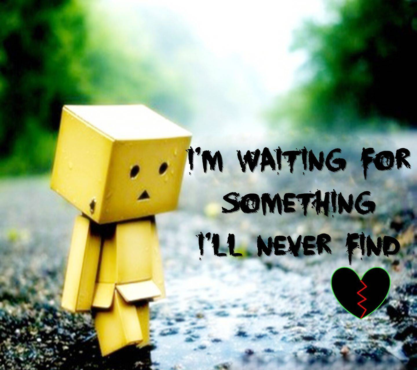 I Will Never Find