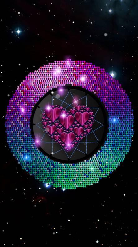 Shiny Colorful Heart
