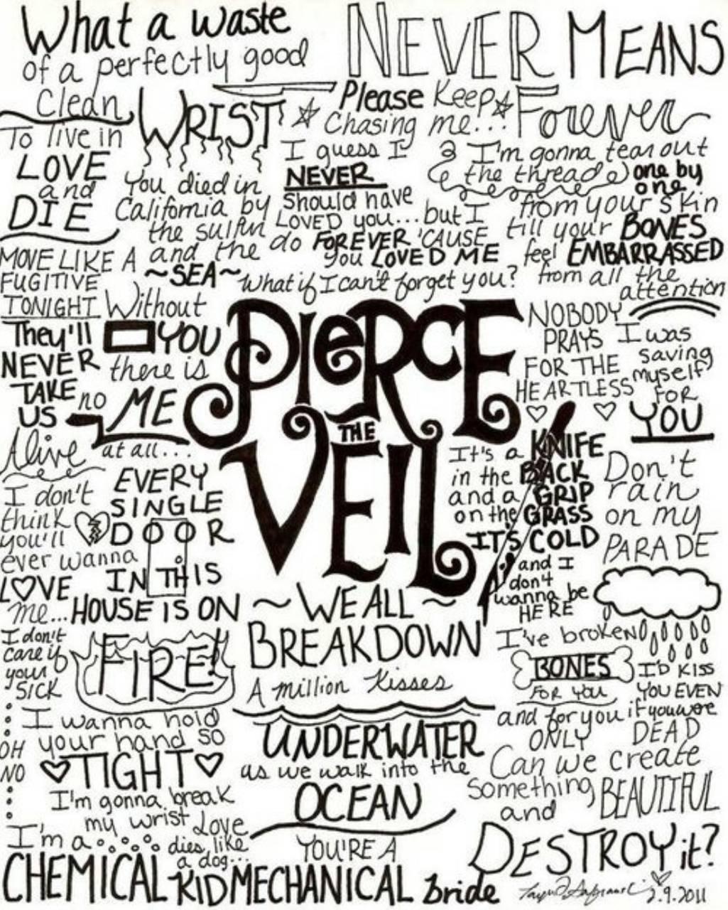 Pierce The Veil Wallpaper By Ayla2960 D9 Free On Zedge