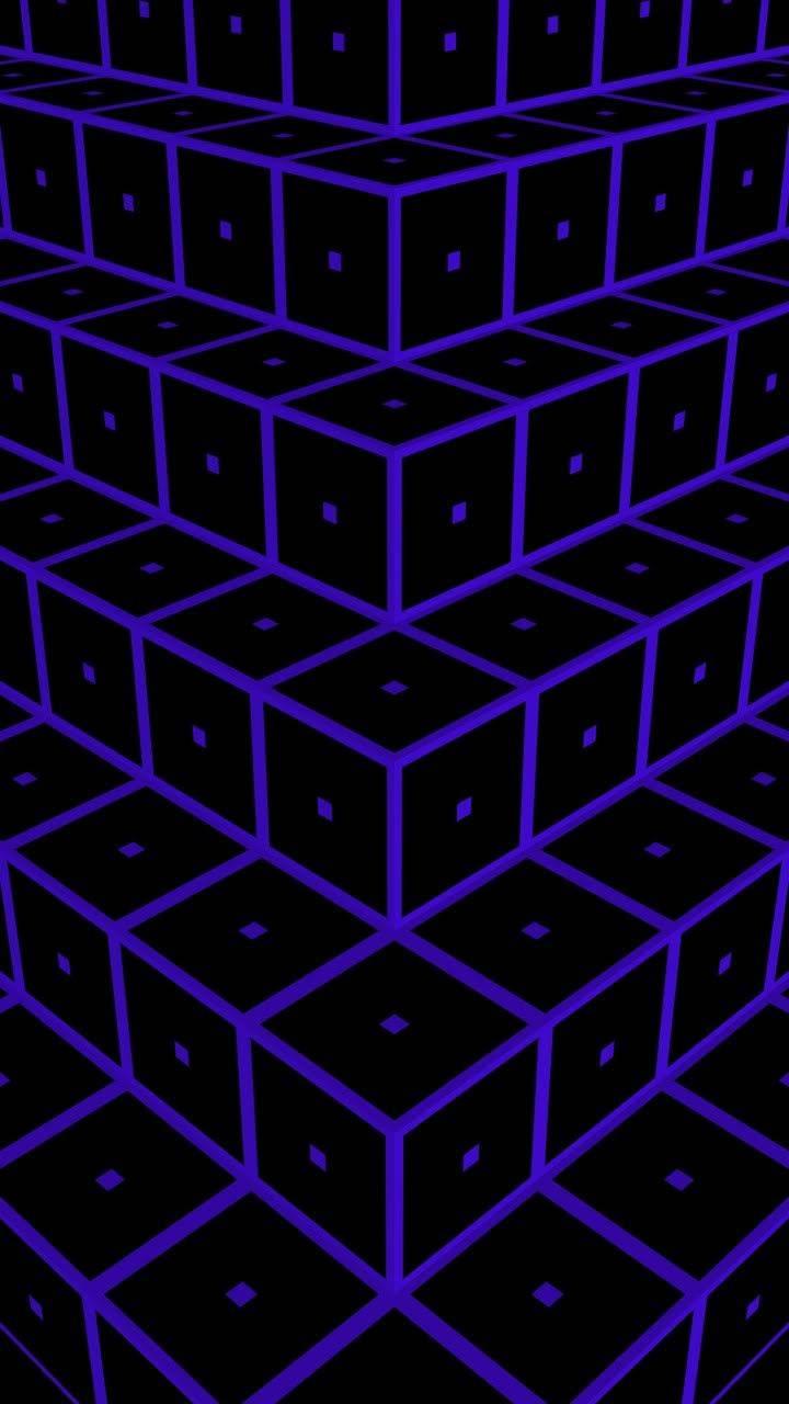 Black-Blue Steps 10