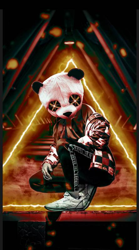 Panda Neon Ringtones And Wallpapers Free By Zedge