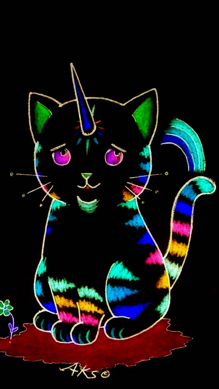 Rainbow Unicorn Cat2