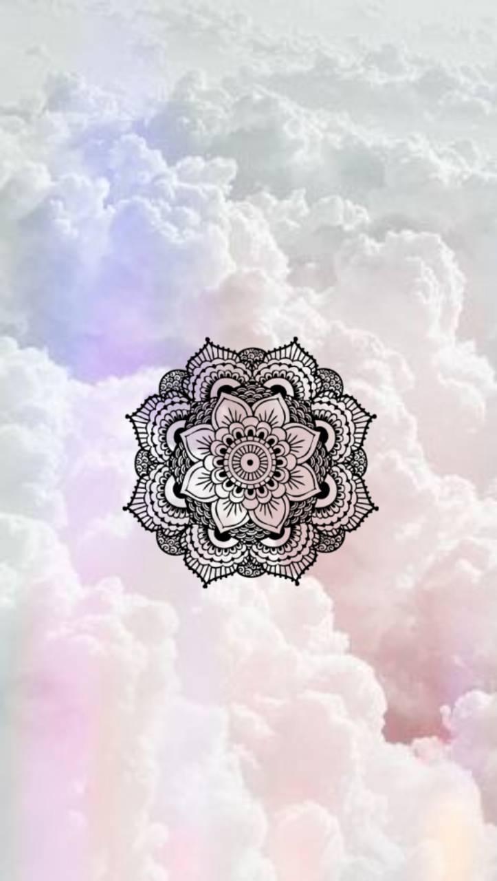 Mandala in Clouds