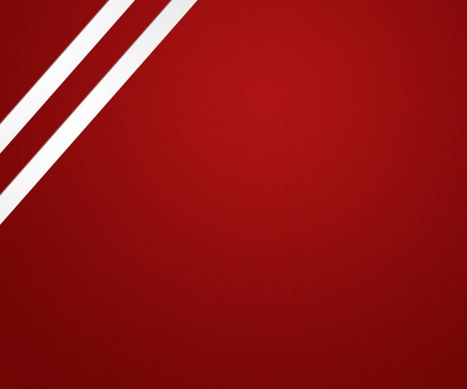 Red Wall And Stripes